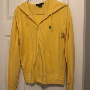 Ralph Lauren bright yellow jacket - Size Medium